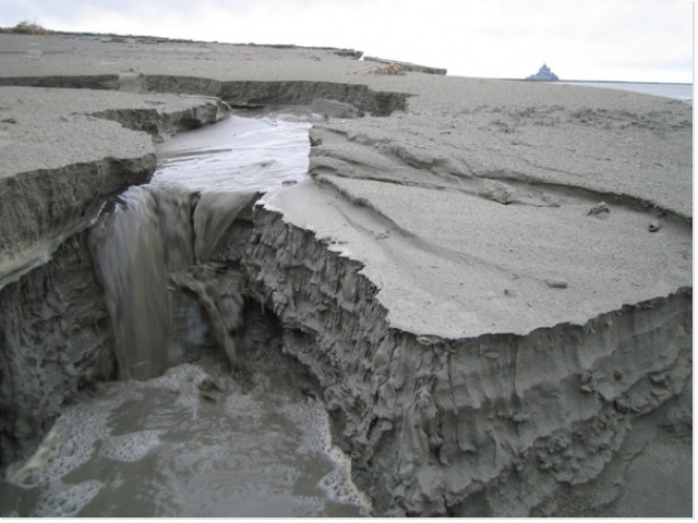 couches sédimentaires et érosion