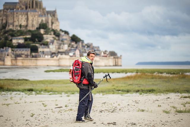 Randonnée le Mont Saint Michel hors saison