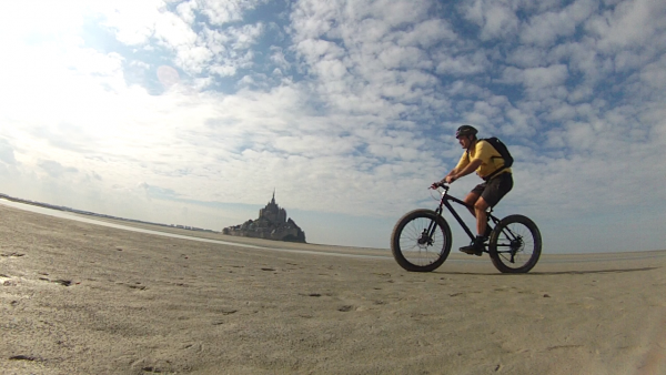 Fat bike Vtt velo Le Mont Saint Michel