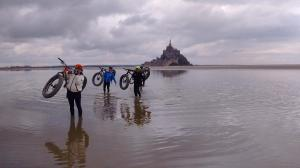 Fat bike Mont Saint Michel