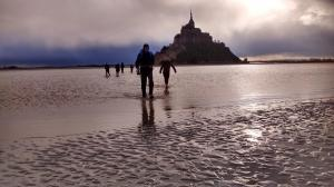 Traversée au départ du Mont-Saint-Michel