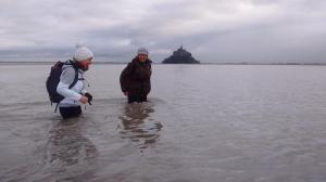 En grandes marée en décembre